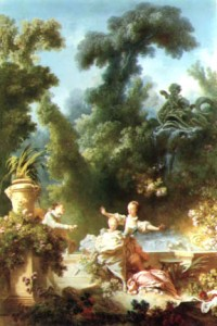 « La poursuite » ('The Pursuit'), by Jean Honoré Fragonard