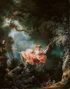 The Swing, by Jean Honoré Fragonard (c. 1767)