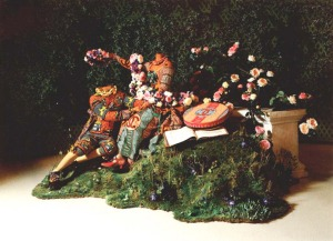 Jardin d'Amour: The Crowning, by Yinka Shonibare MBE (2007)