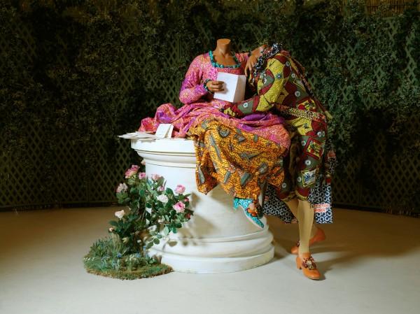 Yinka Shonibare MBE's 'Jardin d'Amour' [Garden of Love] (Musée du Quai Branly, Paris,2007)