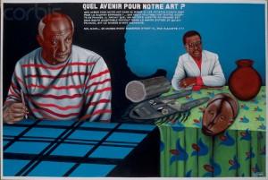 Quel Avenir pour Notre Art? by Cheri Samba