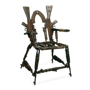 Throne of Weapons (2001) by Kester. Source: The British Museum - http://www.britishmuseum.org/.