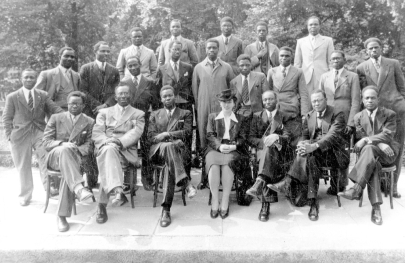 Delegates at the Pan African Congress (Manchester, UK) in 1945. Image source: http://www.gmlives.org.uk/.