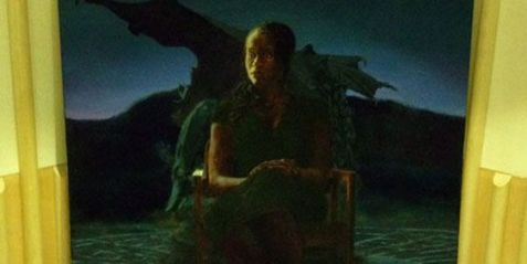 The Rescue of Andromeda (2011), by Kimathi Donkor. Oil paint on canvas. Image Source: University of the Arts London - http://www.arts.ac.uk/.