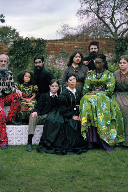 A new photographic installation by Yinka Shonibare MBE, inspired by William Morris