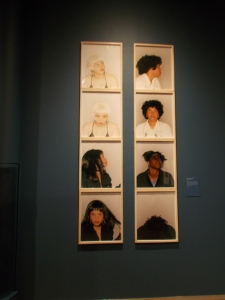 Untitled series (1995), by Jamaican-born British artist Maxine Walker, Photograph: V&A