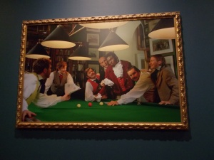 Diary of a Victorian Dandy:  17.00 hours, by Yinka Shonibare MBE (RA)