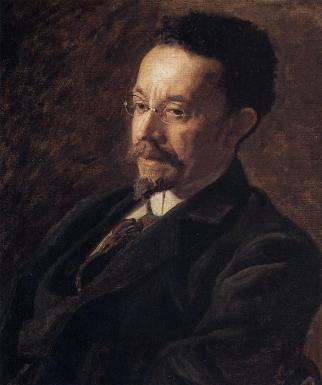 Portrait of Henry Ossawa Tanner (1900). Oil on canvas, by Thomas Eakins. Image credit: The Hyde Collection.