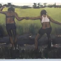 """Verses After Dusk."" A solo exhibition by Lynette Yiadom-Boakye (Serpentine Gallery, London)"