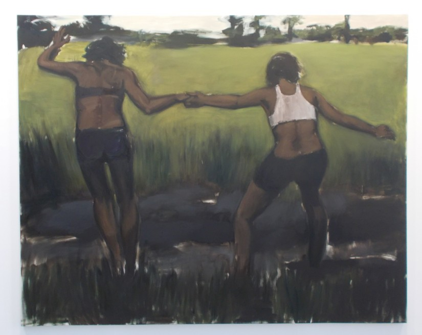 """Verses After Dusk."" A solo exhibition by Lynette Yiadom-Boakye (Serpentine Gallery, London)"