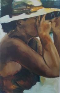 The Woman Watchful (2015), by Lynette Yiadom-Boakye