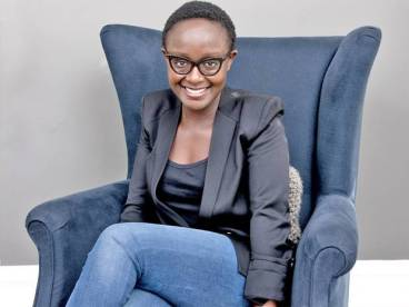 Photograph of the artist Lynette Yiadom-Boakye, taken in 2013. Image source: The Independent - http://www.independent.co.uk/.