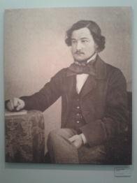 Photographic portrait of the artist, graphic designer, philanthropist and social justice campaigner William Morris. The original was taken in the 19th century.