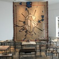 Installation Art by Otobong Nkanga (on display in Oxford, UK, until November 2016)