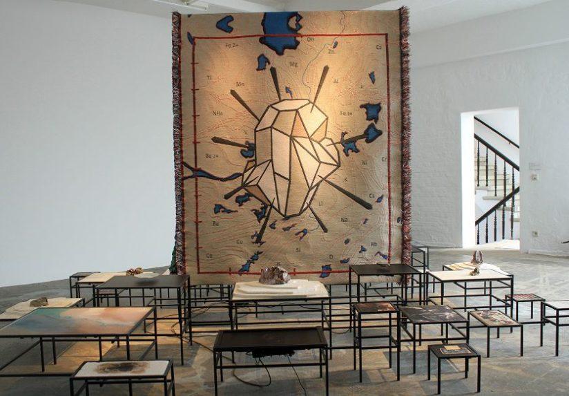 Installation Art by Otobong Nkanga (on display in Oxford, UK, until November2016)