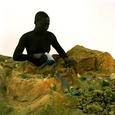 """Still from Otobong Nkanga's """"Remains of the Green Hill"""", 2015, video, HD, 16:9, stereo sound. Photo credit: Aurélien Mole"""
