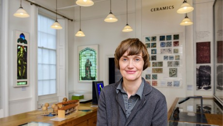 """Walthamstow, Women and William Morris: Claire Twomey's """"Living Installation"""" in EastLondon"""