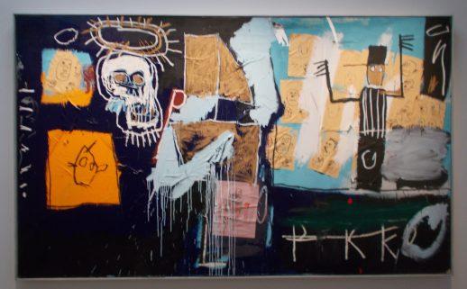Slave Auction (1982), by Jean-Michel Basquiat, displayed at the Pompidou, Paris, in 2014. Photo: Carol Dixon