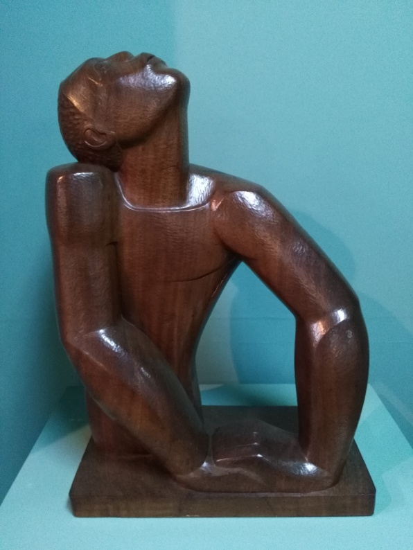 Negro Aroused (1935), by Edna Manley. Wood (Mahogany). Height 63.5cm. Photo: Carol Dixon